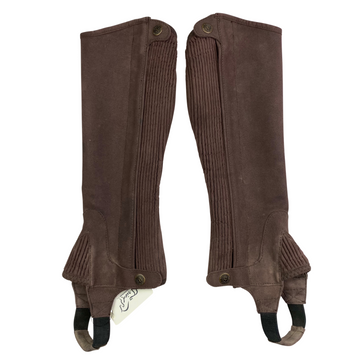 Other side of Ovation Elite Amara Half Chaps in Brown - Women's Small
