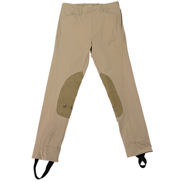 Equine Couture CoolMax Champion Front Zip Jods in Safari