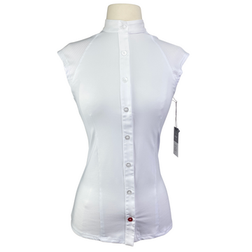Levade Clothier 'Jackie' Shirt in White - Women's Small