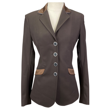 Equiline X-Cool Technical Competition Jacket in Brown