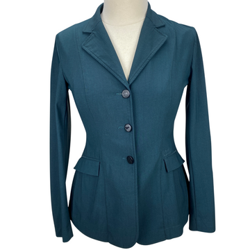 RJ Classics Orange Label Show Coat in Green Herringbone - Women's 2R