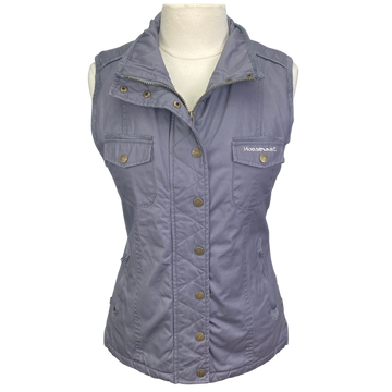 Horseware Ireland Hexham Vest in Grey.