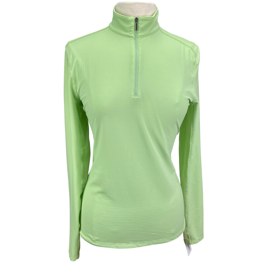Dover Saddlery CoolBlast Sunshirt in Lime Green - Women's Large