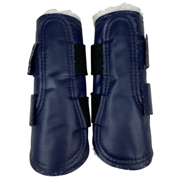 Pelham Ascot Fleece Sport Boots in Navy - Medium