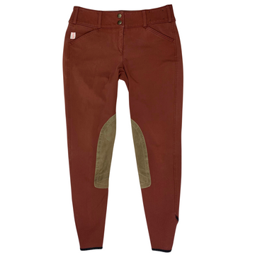 Tailored Sportsman Trophy Hunter Breeches in Redwood