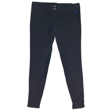 Ovation Knee Patch Breeches in Navy