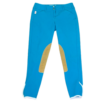 Tailored Sportsman Trophy Hunter Breeches in Peacock