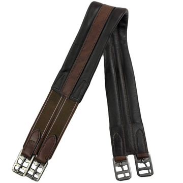 Thornhill Shannon Single End Elastic Girth in Brown - 34