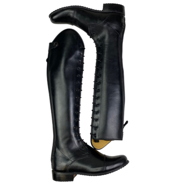 Der Dau Custom Boots in Black