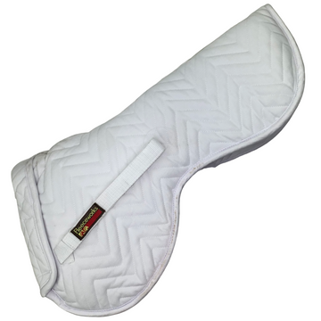 Fleeceworks Perfect Balance Quilted Halfpad with Inserts in White