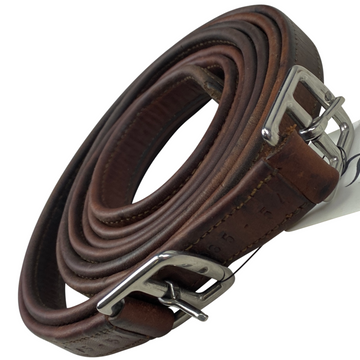 CWD Nylon Lined Stirrup Leathers in Brown - 54