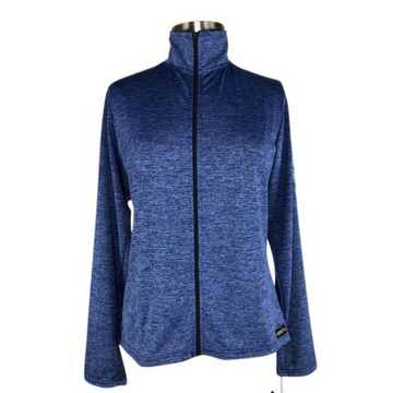Kerrits Ice Fil Full Zip Jacket in Bluestone - Women's XL