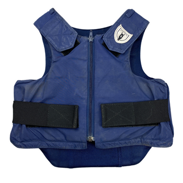 Front of Tipperary 'Ride-Lite' Vest in Navy
