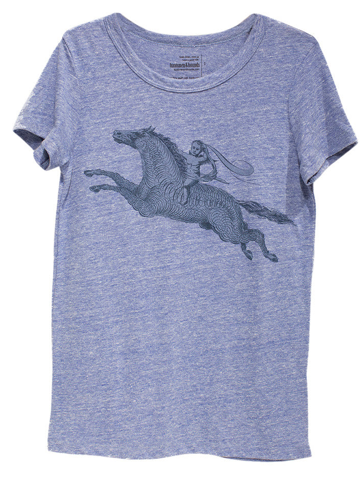 Huntsmen & Hounds Celebration of the Horse Tee in Pacific Beach Heather