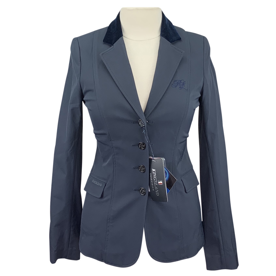 Kingsland Alesandra Ladies Tec Show Jacket in Navy - Women's EU 38 (US 8)