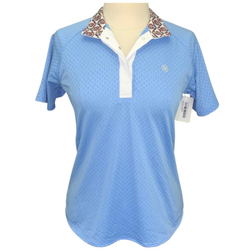 Ariat Show Stopper Short Sleeve Show Shirt in Powder Blue