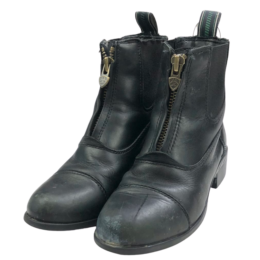 Ariat Devon IV Zip Paddock Boots in Black