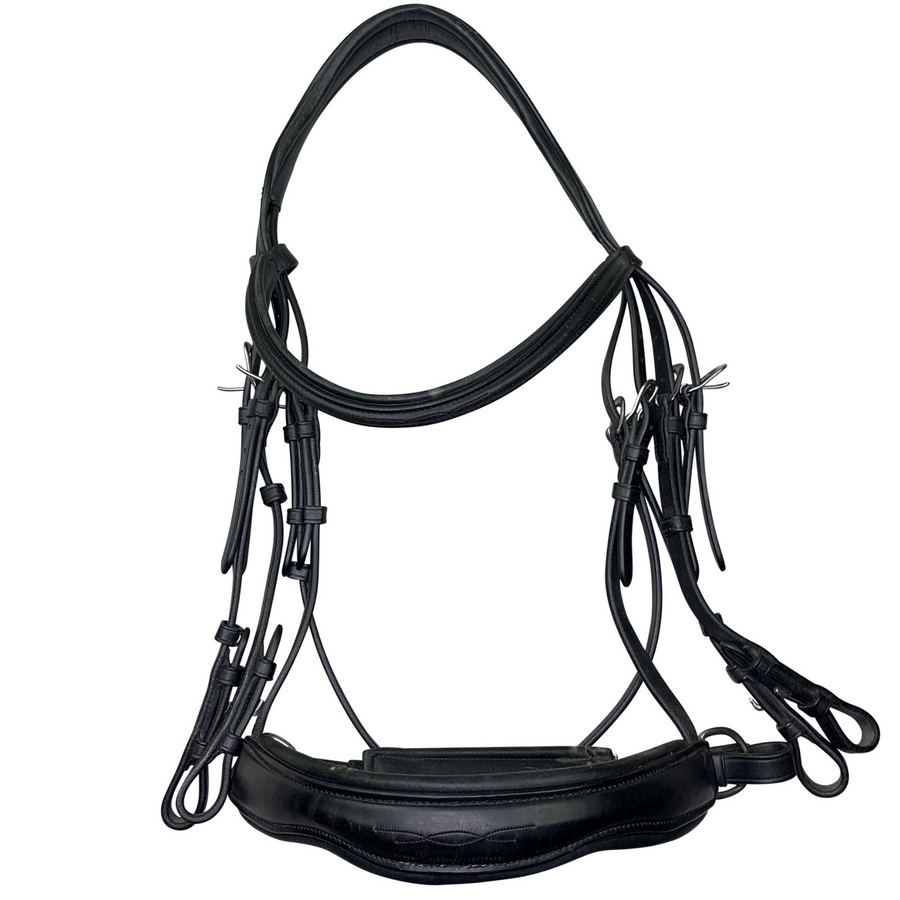Antares Double Bridle in Black