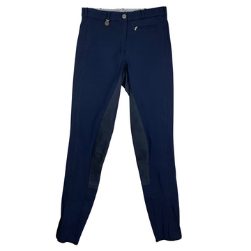 Pikeur Lugana Full Seat Breeches in Navy