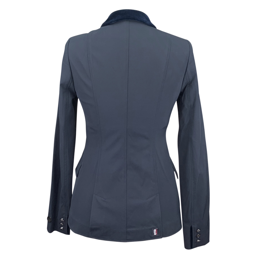 Back of Kingsland Alesandra Ladies Tec Show Jacket in Navy - Women's EU 38 (US 8)