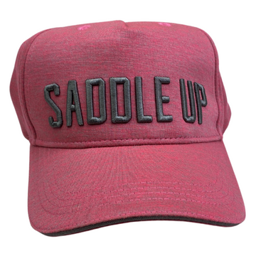 Spiced Equestrian Saddle Up Ringside Hat in Pink - One Size