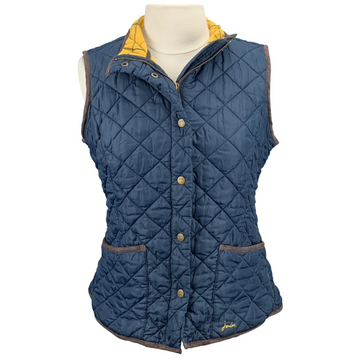 Joules Quilted Vest in Navy