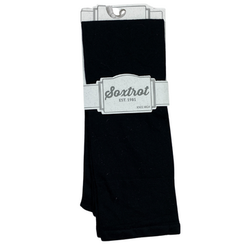 SoxTrot Knee High Socks in Black - One Size