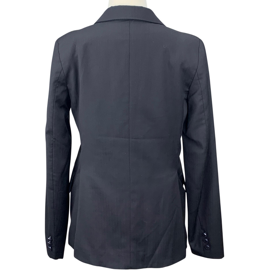 Back of Grand Prix Hadfield's Hunt Coat in Black