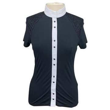 Equiline Competition Donna Shirt in Black
