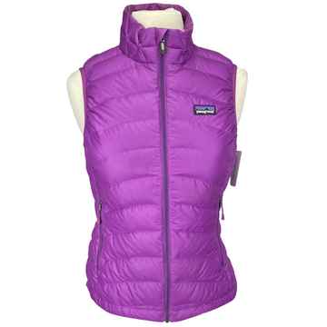 Patagonia Nano Puff Vest in Purple - Women's XS