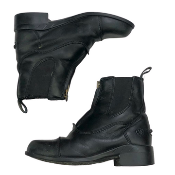 Ariat Devon IV Zip Paddock Boots in Black - Children's 1