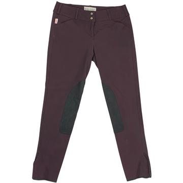 Tailored Sportsman Trophy Hunter Breeches in Plum