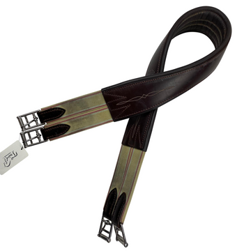 Edgewood Double End Elastic Girth in Brown