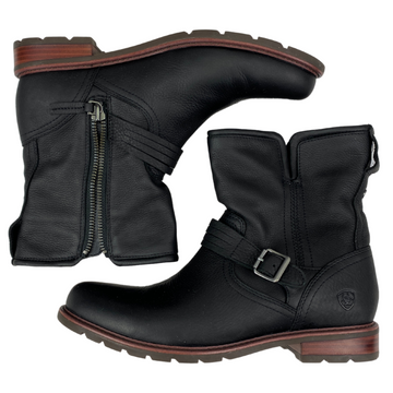 Ariat Savannah Waterproof Boots in Black - Women's 10.5