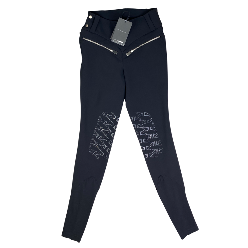 Reigns 'The Finja' Breeches in Black