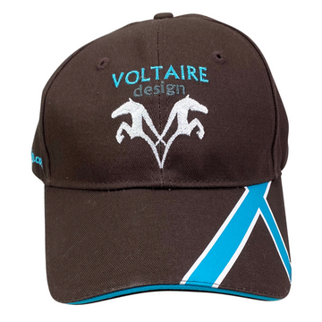 Voltaire Design Cap in Brown