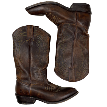 Frye Western Boots in Brown - Women's 7