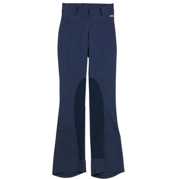 Kerrits Microcord Bootcut Knee Patch Breeches in Navy