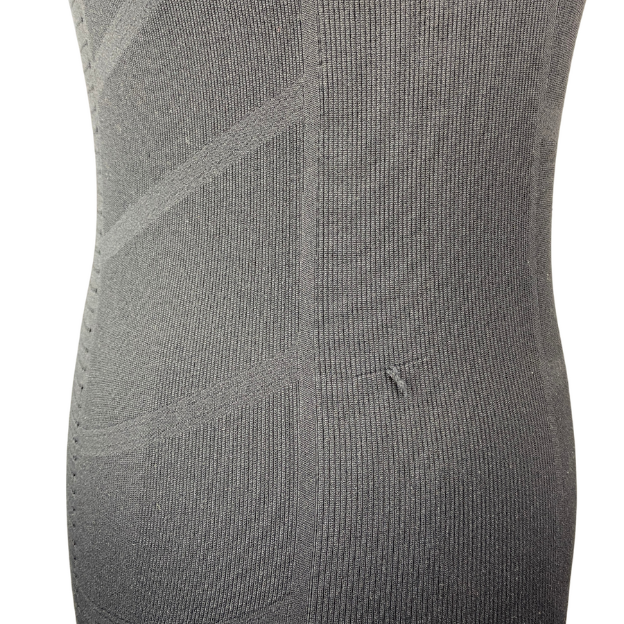 Closeup of Goode Rider Seamless Shirt in Black - Women's Small