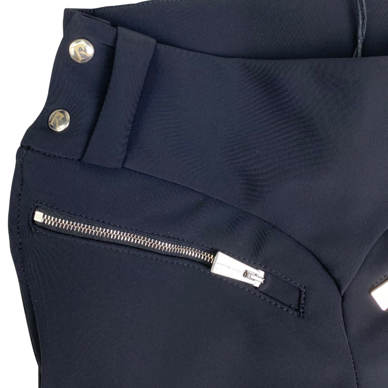 close up Reigns 'The Finja' Breeches in Black
