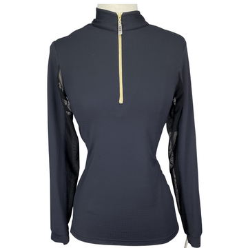 EIS Cool Shirt in Black/Tan - Women's Small