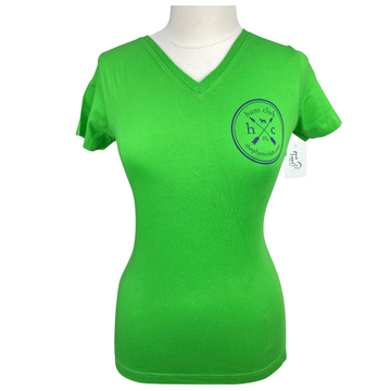 Front of Hunt Club Short Sleeve Tee in Green Apple