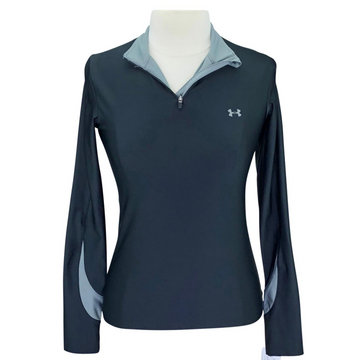Under Armour Long Sleeve Shirt in Black