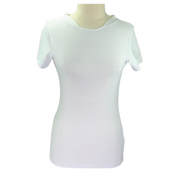 Cavalleria Toscana Techn Pique T-Shirt in White
