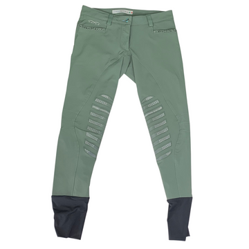 Animo Breeches in Olive Green