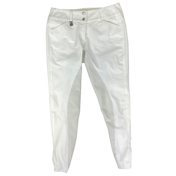 Pikeur Cindy Full Seat Breeches in White