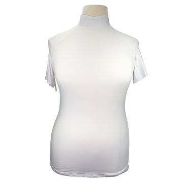 Street & Saddle Show Shirt in White