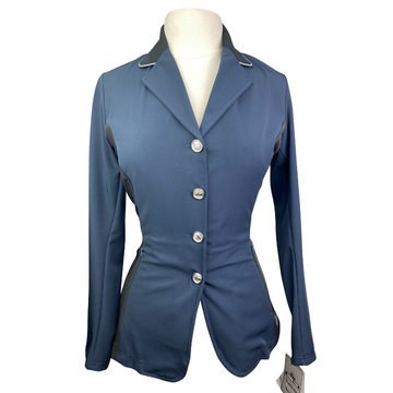 Grand Prix Two-Toned Techlite Show Jacket in Navy/Black Sides - Women's EU 16R  (US 10R)