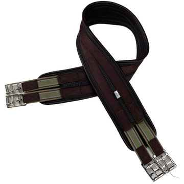 Smartpak Breathable Girth in Brown - 48