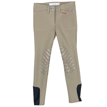 Front of Animo Pony Division Breeches in Beige